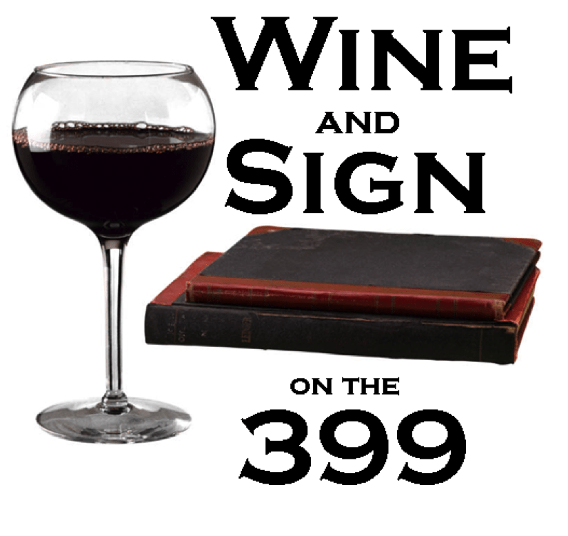 Wine and Sign on the 399 logo