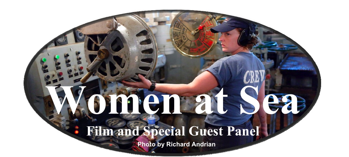 Women at Sea: Film and Special Guest Panel graphic