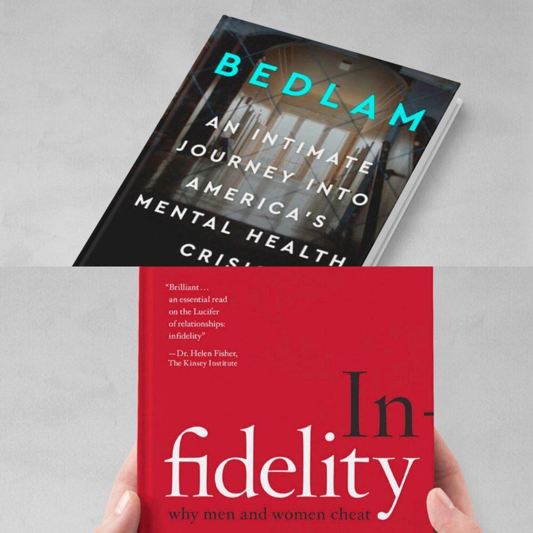 """Ken Rosenberg books """"Bedlam"""" and """"Infidelity"""""""