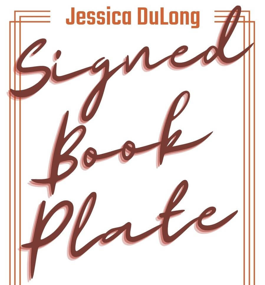 Signed book plate preview