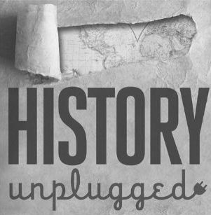 History Unplugged podcast logo
