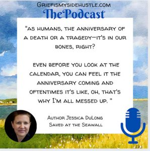 Quote on grief and trauma anniversaries by Jessica DuLong